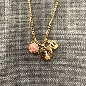COPY - 3/$15, Juicy Couture Gold Necklace
